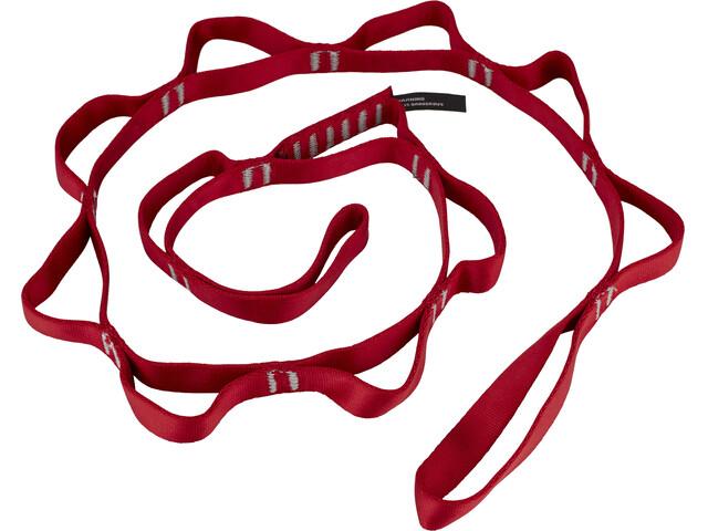 Black Diamond Nylon Daisy Chain 115cm / 18mm Red
